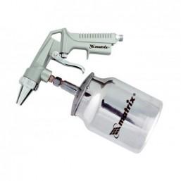 Пистолет пескоструйный с нижним бачком, пневматический MATRIX 57326