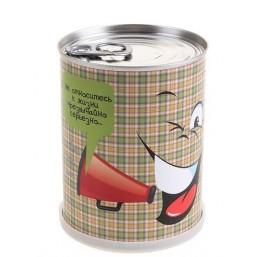 """Сувенир антистресс""""Смайл с рупором"""" набор для выращивания BONTILAND (метал. банка, универсальный грунт, семена, высота-9,8см, диаметр-7,8см)"""