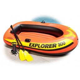 Лодка Explorer 300 трехместная Intex (58332)