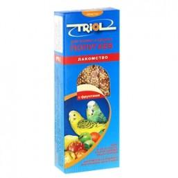 Е104 Триолл- Криспи лакомство для мелк.и сред.попугаев с фруктами