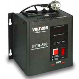 Стабилизатор VOLTRON PCH 500 динар черный навесной