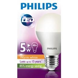Лампа  LED A55  5-40W E27  3000K Bulb