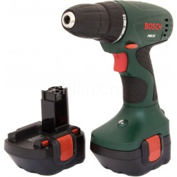 Шуруповерт PSR 12 (2 акк.) Bosch 0603955521