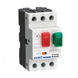 Автомат защиты электродвигателей NS2-25 2,5-4A Chint