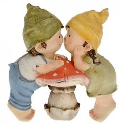 Садовая фигурка Детки с грибом MG2388810 (Р5 С5)