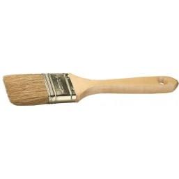"""Кисть плоская  ЗУБР """"УНИВЕРСАЛ-ЭКСПЕРТ"""", натуральная щетина, деревянная ручка, 63мм"""