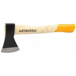 "Топор STAYER ""STANDARD"" кованый, деревянная рукоятка, 0,6кг"