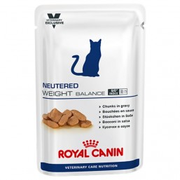 Влажный корм Royal Canin NEUTERED WEIGHT BALANCE 12*100g