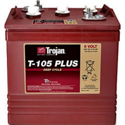 T105+ 6V Батарея с жидким электролитом
