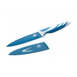 6750 GIPFEL Нож синий 5'' с антипригарным покрытием, ручка пластик, упаковка блистер