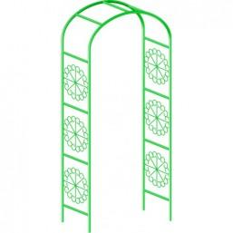 Арка садовая декоративная, 228 * 130 см