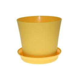 Горшок Фиалка 165мм без поддона, оранжевый
