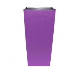 Кашпо Финезия 190х190мм, фиолетовый
