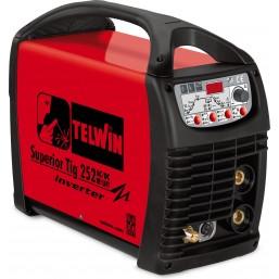 Сварочный аппарат с инвертором Telwin Superior Tig 252 AC/DC-HF/LIFT VRD + TIG ACC