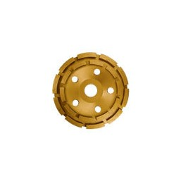 Чашка алмазная Crown CTDDP0164 d180 2 рядный