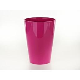 Кашпо Лилия 190мм, цвет розовый  Польша