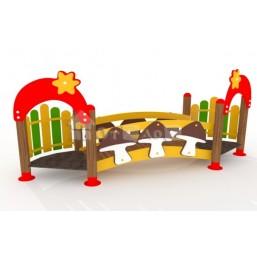 Игровой мостик «Полянка» МК-04