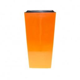 Кашпо Финезия 190х190мм, оранжевый