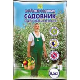 Побелка Садовник сухая в пакете 0,5 кг
