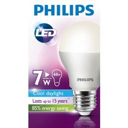 Лампа  LED A55  7-60W E27  6500K Bulb