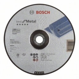 Отрезной круг Best по металлу 115x1,0, вогнутый