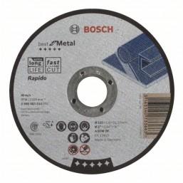 Отрезной круг Best по металлу 180x2,5, вогнутый