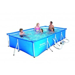 Каркасный бассейн Bestway 4м*2,11м*0,81м