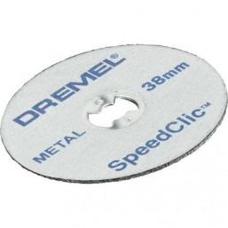 Диск отрезной абразивный на бормашинку SpeedClic Dremel SC456