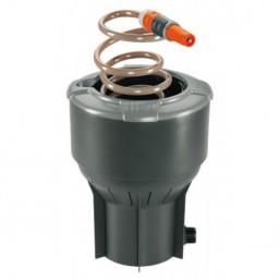 Высокая функциональность: колонка со спиральным шлангом GARDENA позволяет получать воду из-под земли так же, как мы получаем электричество из сети.