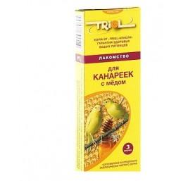 Е112 Триолл- Криспи лакомство д/канареек с медом