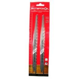 Полотна для ножовочной пилы по дереву 152*129*4,0/6,0 мм (2 шт.) Интерскол 2210912900401