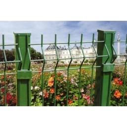 Забор в сборе со столбом  4.0MM,HOLE SIZE:50X200MM 2.03MX2.5M (H.S. CODE:7314.4200)
