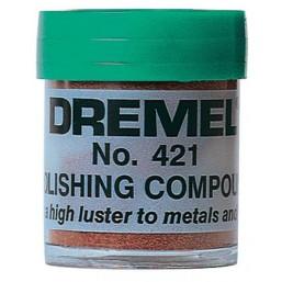 Полировальная паста Dremel 421