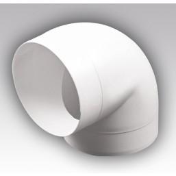 Колено круглое пластмассовое Эковент 16ККП