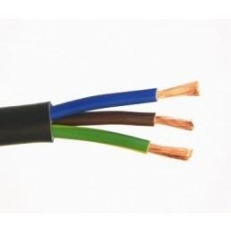Кабель для скважинных электронасосов (цена за метр) Pedrollo 4х1,5 мм2