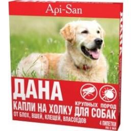 """Капли """"Дана"""" против блох для собак крупных пород"""