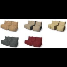 Кресло Comfort Диван 3-х секционный замша (шинил)