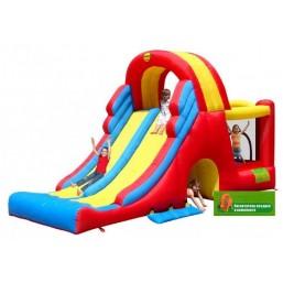 Детский надувной Игровой Центр Мега-горка HAPPY HOP 9082N