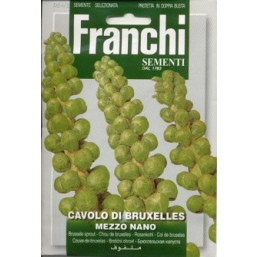 Капуста брюсельская 100гр  A 24/2   Franchi Sementi