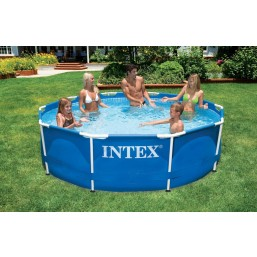 Каркасный сборно-разборный бассейнMetal Frame Pool Intex 56999