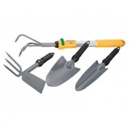 Садовый набор 5 предметов, со съёмной рукояткой  PALISAD LUXE 63032
