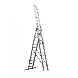 30216039  Ал. лестница 3х14, Н=9,54/10,54м  (5314)