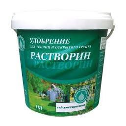 """Удобрение для теплиц и открытого грунта """"Растворин"""" марка А 1 кг."""