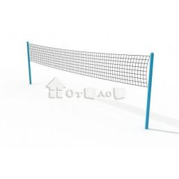 Волейбольные стойки с сеткой СО-11