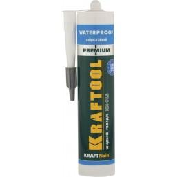 Клей монтажный KRAFTOOL KraftNails Premium KN-915, водостойкий с антисептиком, для ванн и душевых, 300мл mod