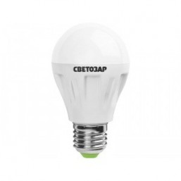 "Лампа СВЕТОЗАР светодиодная ""LED technology"", цоколь E27(стандарт), яркий белый свет (4000К), 220В,50"