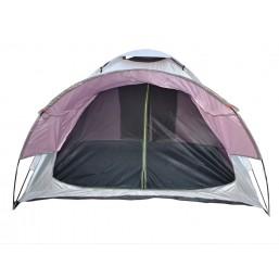 Палатка  квадратная (2.3м х2.3м) белая 12011