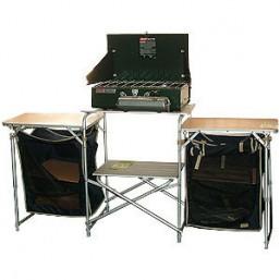 Кухня мобильная CW Karelia (чехол,размер 172*48*79.5см.,два подвестных шкафчика,доп.экран для защиты