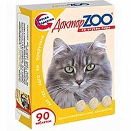 Доктор  ZOO  для кошек со вкусом сыра