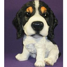 Садовая фигурка Собака черно-белая маленькая BJ102365V  GS